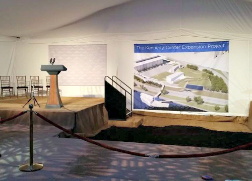 The Kennedy Center Expansion Project Groundbreaking