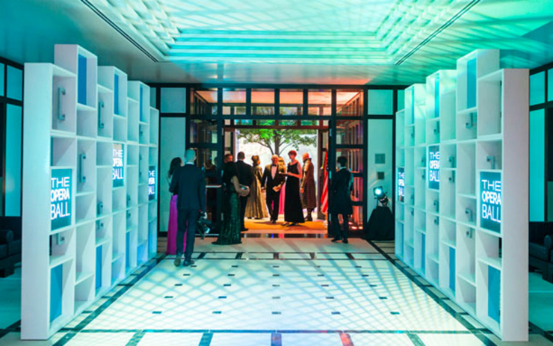 Opera Ball's Custom Entrance Stuns at the German Ambassador's Residence