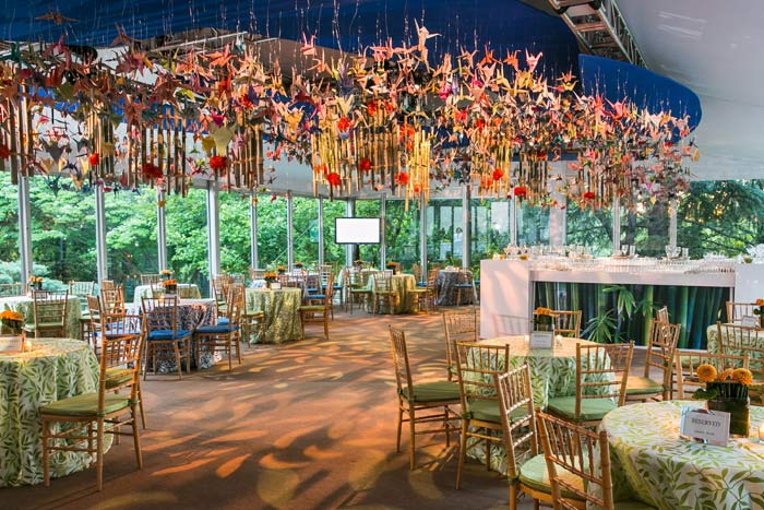 1,000 Paper Cranes Fill the Imagination at the 2014 Opera Ball