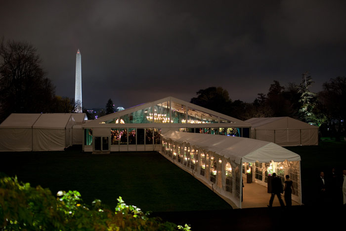 State Dinner at the White House Featured Stunning Views of the City