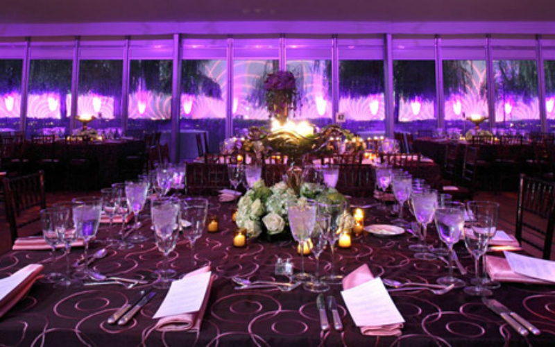 Dramatic Lighting Creates Enchanting Atmosphere for Kennedy Center Event