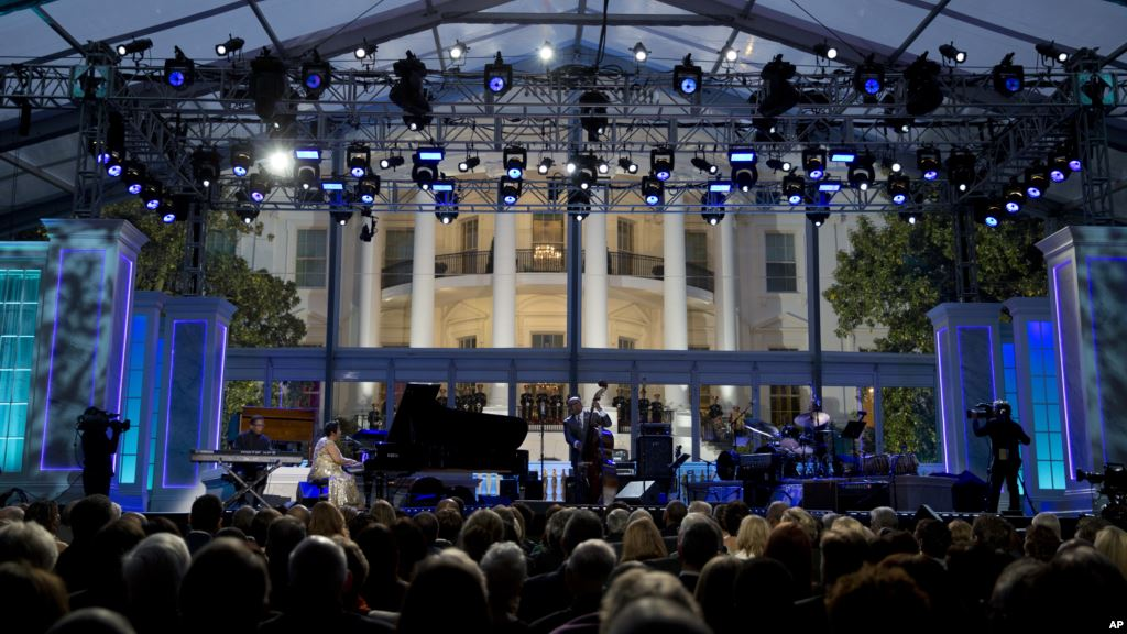 The White House Becomes Perfect Backdrop for International Jazz Day